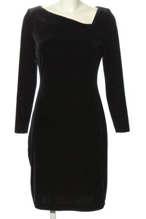 Chou Chou Langarmkleid schwarz Elegant