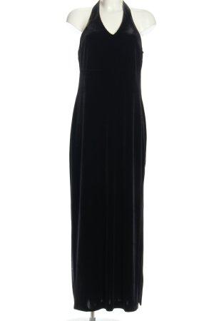 Chou Chou Sukienka z dekoltem typu halter czarny Elegancki