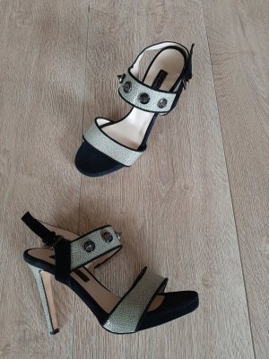 Michalsky Strapped pumps black-silver-colored