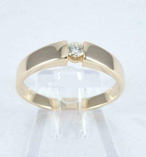 Złoty pierścionek złotopomarańczowy Tkanina z mieszanych włókien