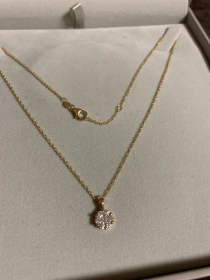Christ Diamonds Kette Gold 0.5 Karat Brillant
