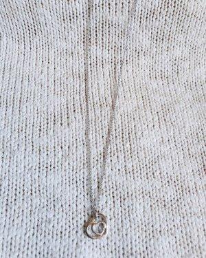 Christ Cadena de plata color plata-blanco plata verdadero