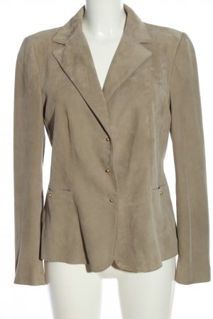 Christ Leather Blazer pink casual look