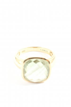 Christ Statement ring goud casual uitstraling