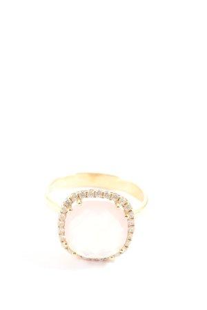 Christ Statement ring goud-roze elegant