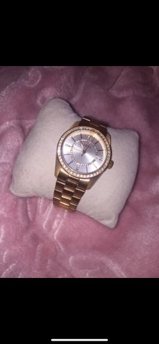 Christ Watch With Metal Strap rose-gold-coloured stainless steel