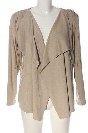 Christa Probst Blouse Jacket brown elegant