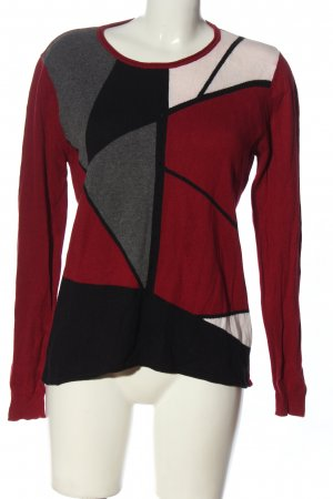 Christa Probst Fine Knit Jumper multicolored casual look