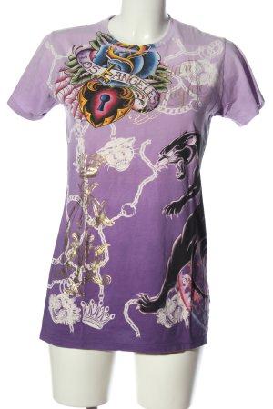 Christian Audigier T-Shirt allover print casual look