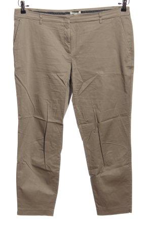Christian Berg Pantalon «Baggy» brun style d'affaires