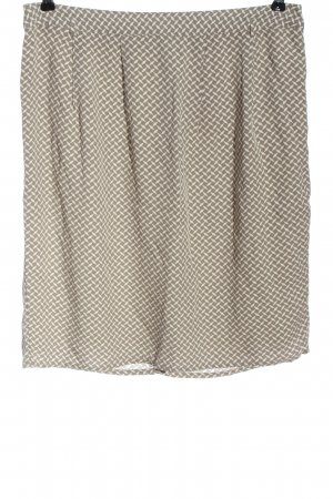 Christian Berg Pencil Skirt brown-natural white allover print casual look