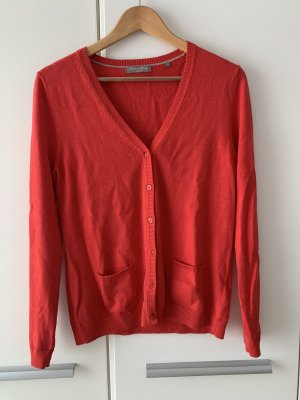 Christian Berg Knitted Sweater red-brick red