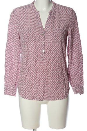 Christian Berg Camicia blusa rosa-grigio chiaro stampa integrale stile casual