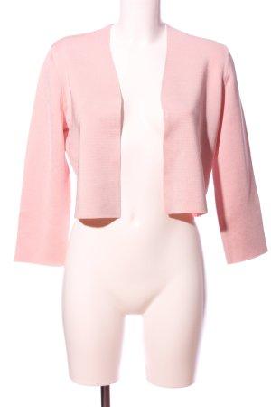Christian Berg Maglione a maniche corte rosa stile casual