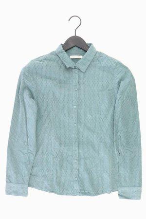 Christian Berg Long Sleeve Blouse turquoise cotton