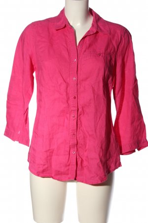 Christian Berg Leinenbluse pink Casual-Look