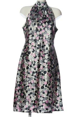 Christian Berg Midi Dress abstract pattern elegant