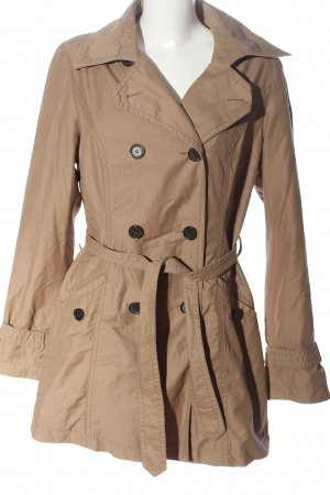 Christian Berg Trenchcoat wollweiß Casual-Look