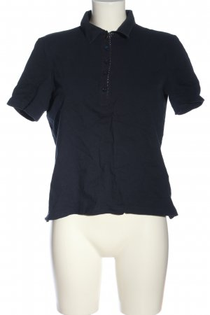Christian Berg Polo-Shirt blau Casual-Look