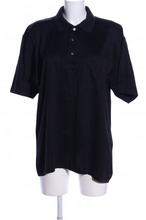 Christian Berg Polo nero stile casual