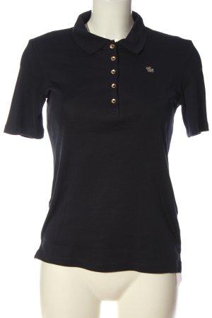 Christian Berg Polo-Shirt schwarz Casual-Look