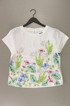 Christian Berg Print Shirt natural white linen