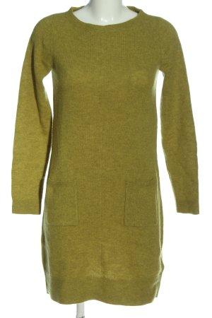 Christian Berg Pulloverkleid grün Casual-Look