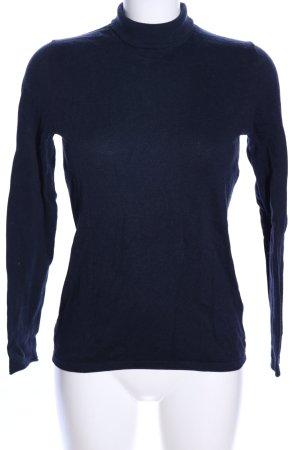 Christian Berg Turtleneck Sweater blue casual look
