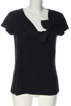 Christian Berg T-shirt blu stile casual