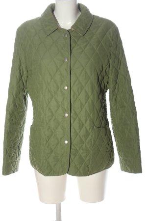 Christian Berg Giubbotto trapuntato verde motivo trapuntato stile casual