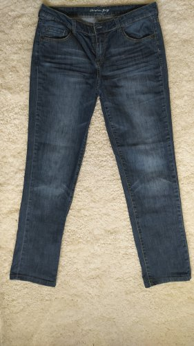 Christian Berg Jeans a gamba dritta multicolore Cotone