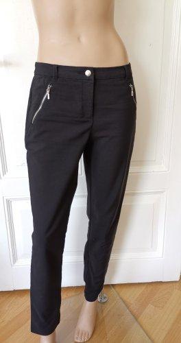 Christian Berg Pantalone jersey nero Cotone