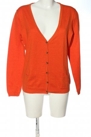 Christian Berg Knitted Cardigan red casual look
