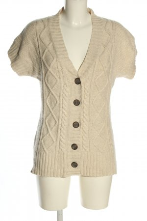 Christian Berg Cardigan cream cable stitch casual look