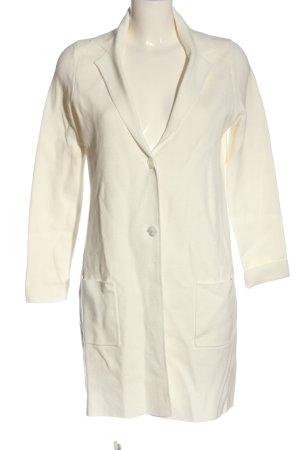 Christian Berg Cappotto a maglia bianco elegante