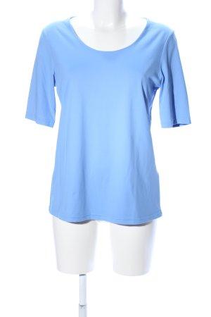 Christian Berg T-Shirt blau Casual-Look