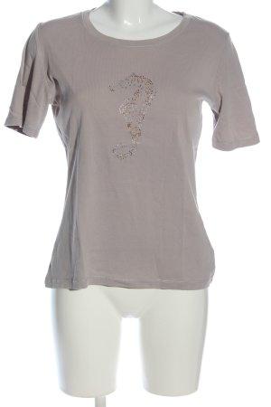 Christian Berg T-shirt grigio chiaro stile casual