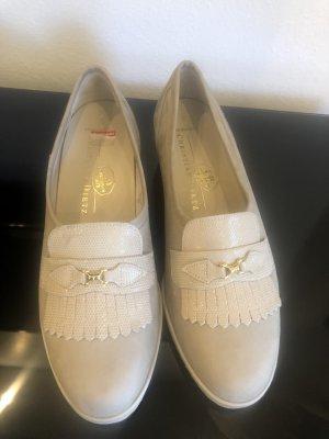 Christian Dietz Slip-on Shoes cream