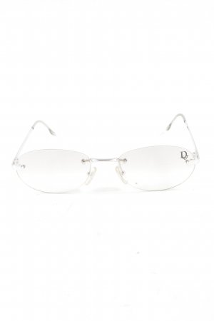 Christian Dior Glasses silver-colored casual look