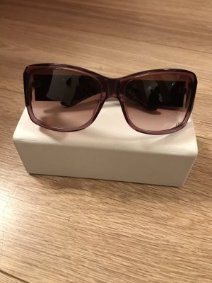 Christian Dior Retro Glasses purple
