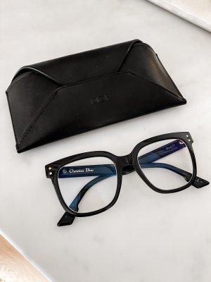 Christian Dior Gafas negro-color oro