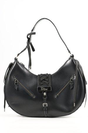 Christian Dior Henkeltasche Saddle schwarz Casual-Look