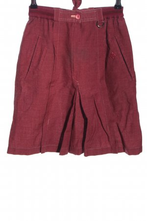 Christian Dior High Waist Rock rot Casual-Look