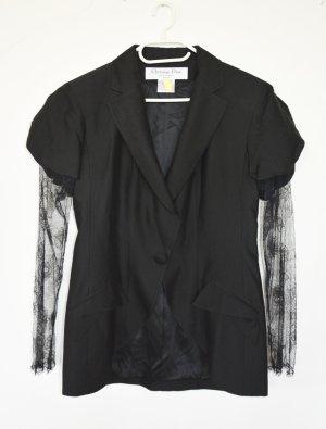 Christian Dior Boyfriend blazer zwart Zijde