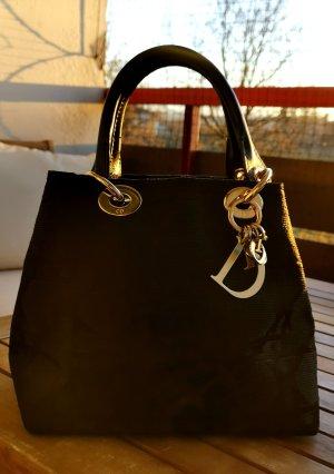 Christian Dior Lady Leinen Tasche Medium