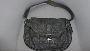 Christian Dior Borsa sacco grigio