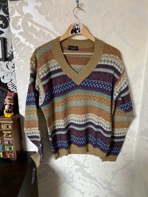 Christian Dior Norwegian Sweater multicolored