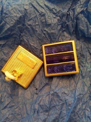 Christian Dior Orecchino a clip oro-blu