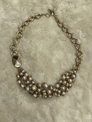 Christian Dior Collier Necklace gold-colored-natural white
