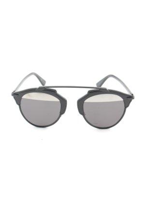 Christian Dior Retro Glasses black casual look